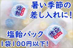 塩飴 100円 粗品