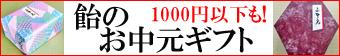 お中元 お菓子 1000円以下。